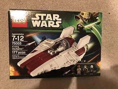 LEGO Star Wars 75003 A-wing starfighter NEw in box, factory sealed Retired!