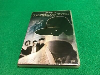 The Invisible Man - The Original Series: Season 1 - RARE SEALED DVD — H.G. Wells