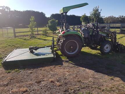 Agrison  40hp CDF Tractor with 6ft Slasher & 4 in 1 Bucket