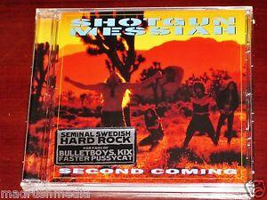 Shotgun Messiah: Second Coming CD 2015 Remaster Divebomb Records USA DIVE078 NEW
