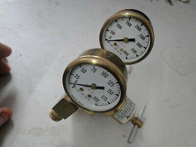 Airco 806 8006 Oxygen Regulator Welding Cutting Torch Gauge Heavy Duty Concoa