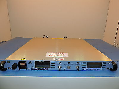 Lambda Ems-300-3.5 Ems Programmable Dc Power Supply 0-300v And 0-3.5a