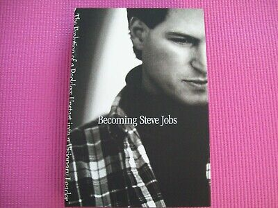 Becoming Steve Jobs Brent Schlender Rick Tetzeli Hardcover w/ warehouse tear