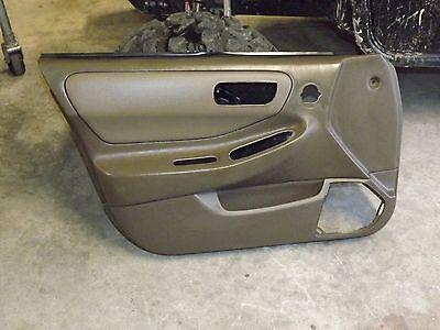 OEM 94-01 Acura Integra DC2 DC4 DB interior lower driver dash fuse lid cover tan