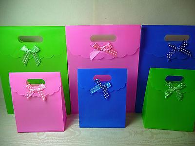 Geschenktasche 3er Set ● Polka Dot ● 16x12cm GESCHENKTÜTE Gift Bag Sac Cadeaux