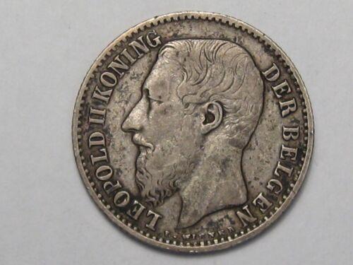 1886 Belgium 1 Franc.  #42