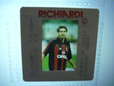 Press Photo slide negative AC Milan Zvonimir Boban 7.9.2000 (1) for sale  Shipping to South Africa