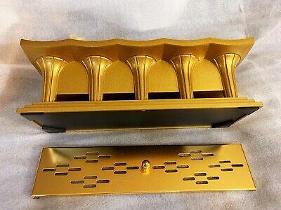 RARE JAPANESE BUDDHIST GOLD XL INCENSE BURNER CENSER SHOHONDO BUTSUDAN SGI ALTAR