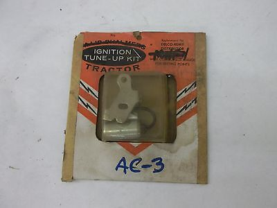 Allis Chalmers Ignition Tune Up Kit Ac-3 Delco Remy Distributor 4056705 4042760