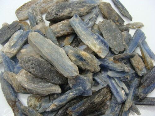 BLUE BLADES KYANITE - 1 Lb Lots - Natural Golden Lapidary Rough Rocks, DIFFERENT