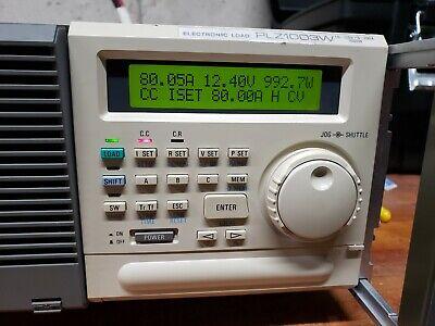 Kikusui Plz1003w 1.5-120vdc 0-200a 1000w Electronic Load - Tested Working