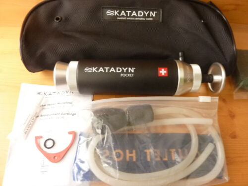 KATADYN POCKET microfilter water purifier filter excellent condition Swiss