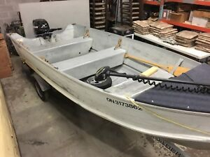 Smoker Craft boat for sale!!