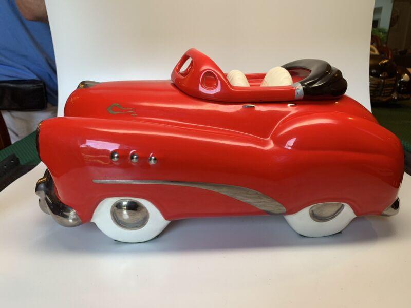 Glenn Appleman Red Buick Convertible