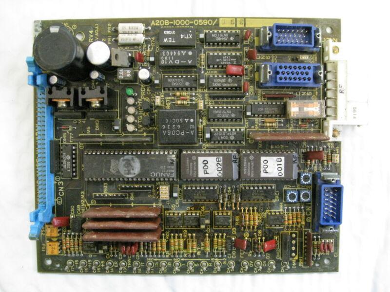 GE Fanuc A20B-1000-0590/06B PCB Servo Control Circuit Board Used Free Shipping