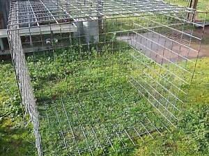 Galvanized mesh crate Angaston Barossa Area Preview