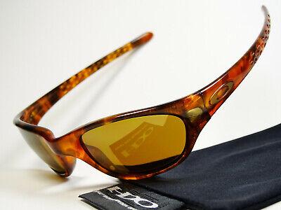 Oakley Five 1st Gen Tortoise Gold Sonnenbrille Jupiter Breadbox Frogskin Latch X