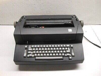 Ibm Correcting Selectric Ii Correcting Typewriter Black Tested