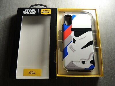 OTTERBOX - Star Wars Stormtrooper Otter Symmetry Case For iPhone X /XS - New