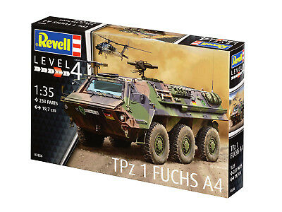 Revell 03256 Radpanzer TPz 1 Fuchs Plastik Modellbausatz 1:35 NEU