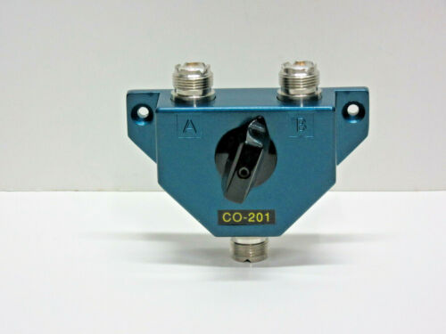 COAX ANTENNA SWITCH 2-POS, 1000W 1.8 TO 600 MHZ./ JETSTREAM CO-201