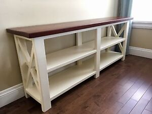 Rustic Console Table / Sofa Table.