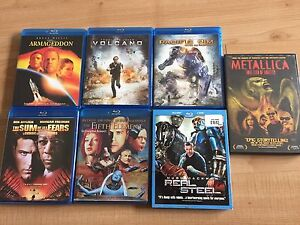 Blu ray Movies Moving sale