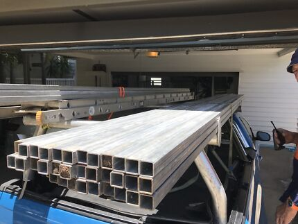 Steel square tube - hi tensile handrail