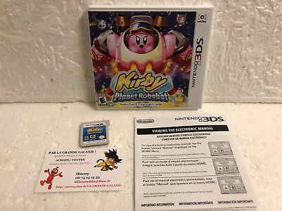 Jeu Vidéo Nintendo 3DS/2DS Kirby Planet Robobot HAL ATTENTION IMPORT USA !!!!!!
