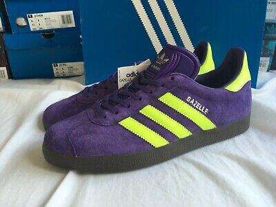 Adidas gazelle purple malmo colour   7 uk 7.5 us  BNIB