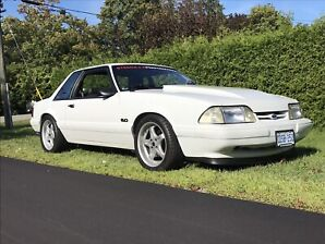 1989 mustang coupe. No rust