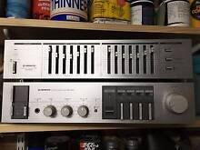 Vintage Pioneer Stereo HiFi Amp SA-5540 Graphic Equalizer SG-540 Lane Cove North Lane Cove Area Preview