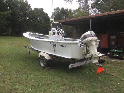 5.25 METRE CUSTOM BUILT FISHING BOAT