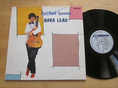 Nara Leao - Girl From Ipanema LP Philips Dutch Import Bossa Nova Vocals Jobim  comprar usado  Enviando para Brazil