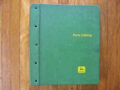 John Deere 4010 Tractor Parts Catalog Green Jd Binder
