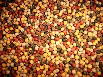 Koifutter 15 kg 5 Sorten Mix Fischfutter Teichfutter Spirulina Goldfisch Koi