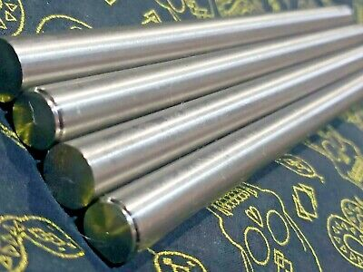 4pcs 916 Dia X Just Over 8 Long Grade 5 Round Titanium Rods Same Day Shipping