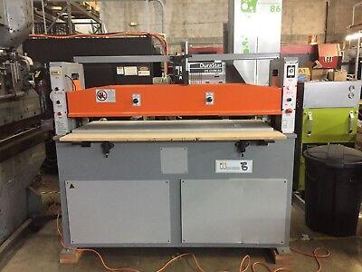 25 Ton Full Beam Clicker Die Cutting Hydraulic Press