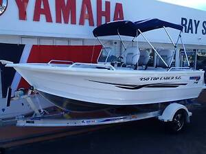 NEW Quintrex 450 Top Ender Side Console Noosaville Noosa Area Preview