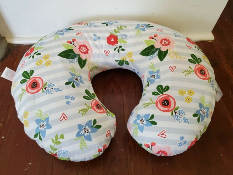 Boppy Original Feeding and Support Pillow Happy Baby Floral Girl.