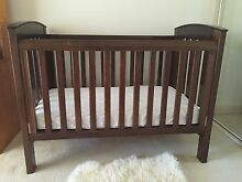 Boori Country Cot, Mattress included in price Eatons Hill Pine Rivers Area Preview