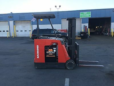 2008 Raymond Forklift Dockstocker 4000 188 Lift Mn420 2015 Battery Wcharger