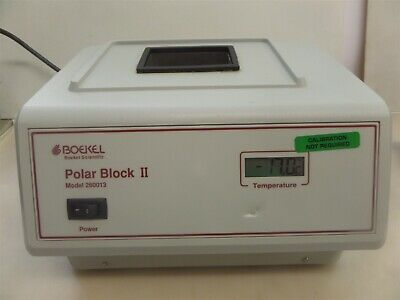 Boekel Scientific Polar Block Ii Model 260013 Benchtop Cooler