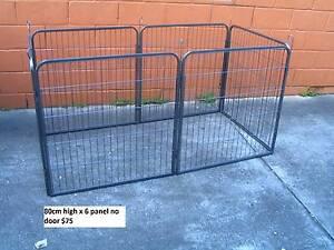 NEW 80cm High Pet Exercise Enclosure/Fence/ Play Pen Run-NO DOOR Kingston Logan Area Preview