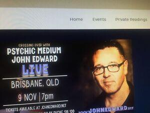 John Edward 2 tickets