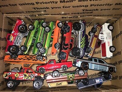 Hot Wheels Matchbox JL Lot of Trucks Chevy Silverado Datsun 620 Toyota Nissan
