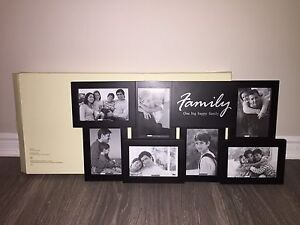 Never-Used Family Photo Frame