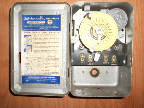 INTER-MATIC T103 Time / Timer Switch - Very Nice