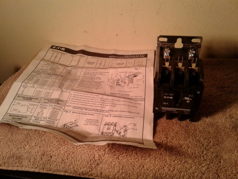 EATON CORPORATION C25DN330 / C25DN330  Definite Purpose Contactor