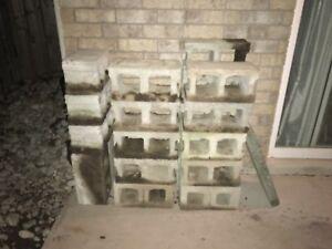 22 Cinder Blocks for sale